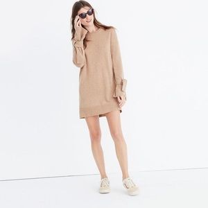Madewell Tie Sleeve Merino Wool Dress